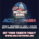 AAACCVB Helps Send Armed Forces Members To Military Bowl