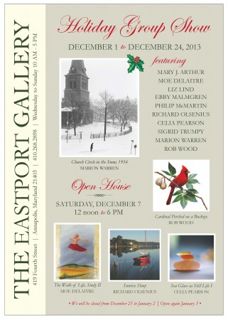 2013 Holiday Group Show invite