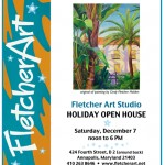 Fletcher Art To Host Open House