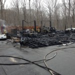 2-Alarm Fire Destroys Gambrills Garage