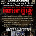 Navy Football To Sign Autographs At Basketball Game