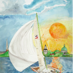 Local artists win competition for Boat Show posters