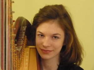 Anna Dunlap, harp, 12th grader at Severna Park High School will play the second movement of Debussy's Danses Sacree et Profane.