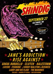 The Shindig Music Festival – September 27th