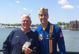 LT Mark Tederow, # 6 Blue Angels
