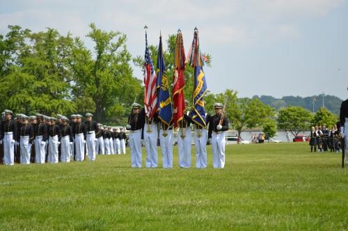 Naval Academy announces Color Company
