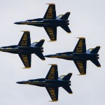 A Blue Angel practice run (PHOTOS)