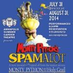 Spamalot opens at Annapolis Summer Garden Theatre