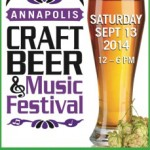 3rd Annual Annapolis Craft Beer and Music Festival – September 13
