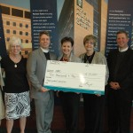 St. Margaret's Parish donates $10K to AAMC's Clinical Pastoral Program