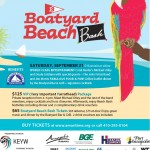 Boatyard Beach Bash scheduled for September 20th at AMM