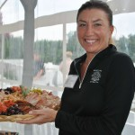 Stacey from Tastings Gourmet Market  (photo by Sandy Mosso)