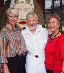 From left: CBMM President Kristen Greenaway and Boating Party Co-Chairs Fred and Lesley Israel have announced this year's signature fundraising gala will take place at the museum on Saturday, September 12. With a theme of Party on the Miles—Big Easy Style, the event begins with cocktails and hors d'oeuvres along the museum's waterfront, followed by a tented dinner and dancing under the stars to the Motown sounds of the XPDs. For tickets and more information, call 410-745-4950.