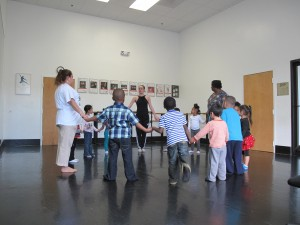"Ballet Theatre of Maryland ""Tiny Toes in the Studio"" last year at Obery Court"