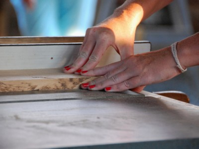 Women's woodworking classes at CBMM