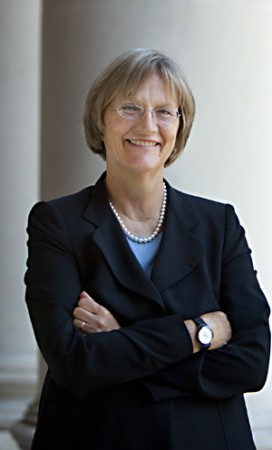 Harvard University president, Drew Gilpin Faust