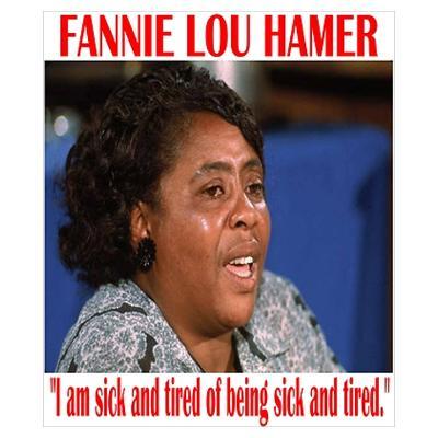 Fannie Lou Hamer Poster