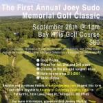 Knights of Columbus sponsoring Joey Sudo golf classic