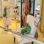 Airport exhibit spotlights AACC students' designs
