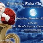 An Annapolis tuba Christmas
