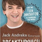 Jack Andraka, North County STEM phenom, publishes book