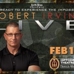 Robert Irvine LIVE presented by Rams Head (Tix tomorrow)