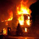 PHOTOS: 4-Alarm fire destroys mansion in Annapolis