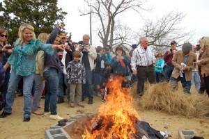 6th Annual Sock Burning at Annapolis Maritime Museum this weekend