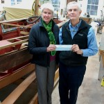 Antique & Classic Boat Society maked CBMM donation