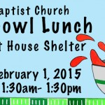 9th SOUPer Bowl planned for Sunday, February 1