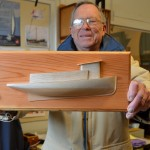 Half-hull model workshop March 28, 29 at CBMM