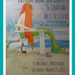 Eastern Shore Sea Glass Mermaid Festival logo 2014-web
