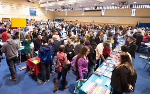 The College Fair at Anne Arundel Community College draws public and private colleges from throughout the region and gives college-bound students and their parents a chance for one-on-one conversation with college representatives. This year's fair is from 6-8 p.m. March 12, in the David S. Jenkins Gymnasium on AACC's Arnold campus, 101 College Parkway. For information, visit http://www.aacc.edu/collegefair or call 410-777-1999.