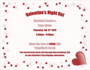 Valentines Night Out Flyer 2-1