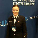USNA Midshipman selected as 2015 Clinton Global Initiative Scholar