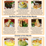 Special menu for March at Miss Shirley's