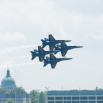 Navy's Blue Angels grab a practice run over Annapolis (PHOTOS)