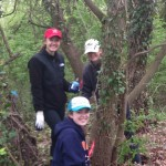 Midshipmen help Greenscape Day at St. Lukes in Eastport