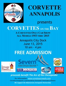 Corvettes on the Bay  2015