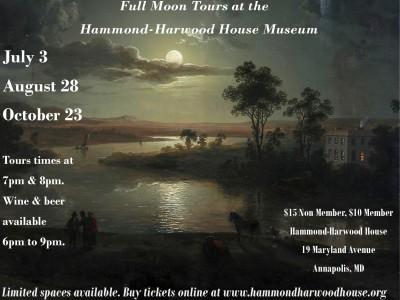 Full Moon Tours at the Hammond-Harwood House