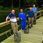 Ginger Cover residents help the Bay with new oysters