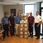 IAFF donates 120 smoke detectors to Anne Arundel County Fire Department