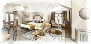 Guest Room Rendering_Inn at the CBBC
