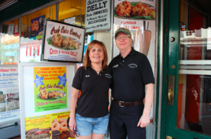 Ted and Beth Levitt, Owners of Chick N Ruth's Delly