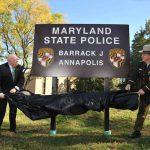Governor Hogan reopens MSP Annapolis barracks