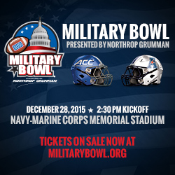 Military Bowl 2015 -1
