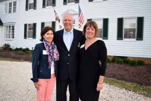 Debbie Gosselin, Gary Jobson, and Heather Ersts