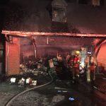 Fire destroys Gibson Island garage