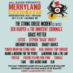 Inaugural Merryland Fest tickets selling fast. Merriweather – July 2016