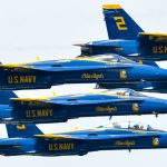 USNA Commissioning Week: Blue Angels flight demonstration (Photos)